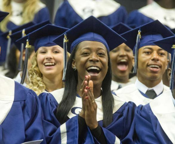 Grovetown High School graduation picture