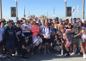 Panthers on Huntington Beach Pier