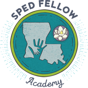 a graphic that says SPED Fellow Academy
