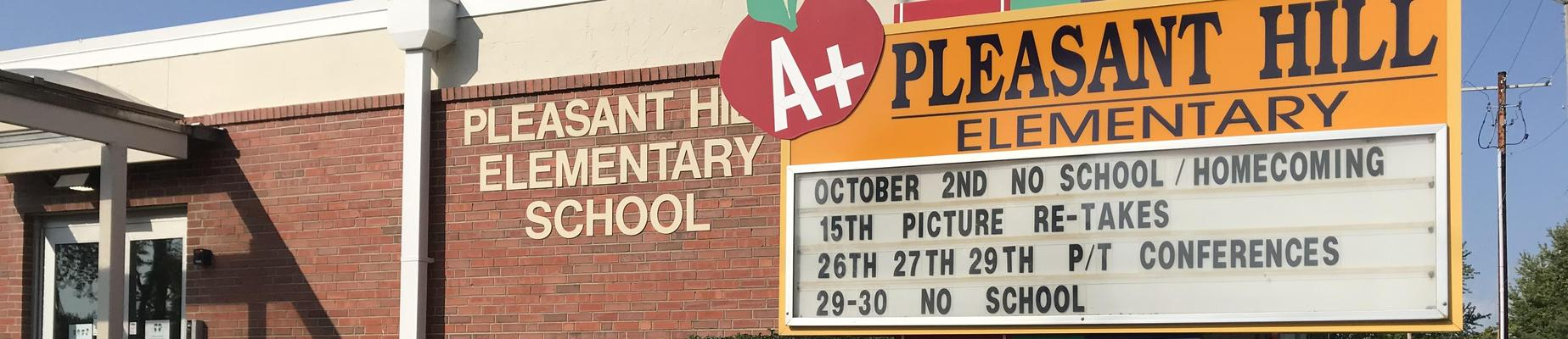 Pleasant Hill Elementary sign