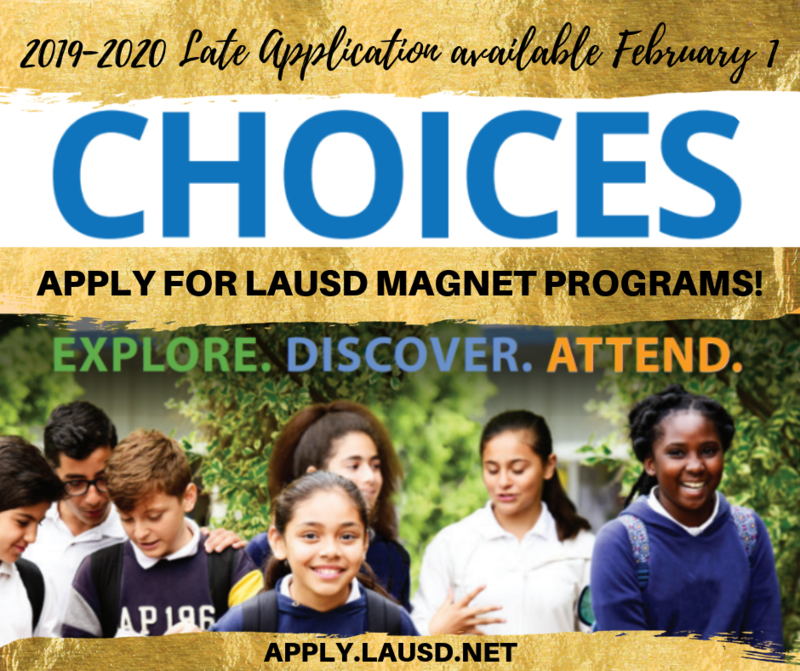 E-Choices 2019-2020 LATE Applications Featured Photo