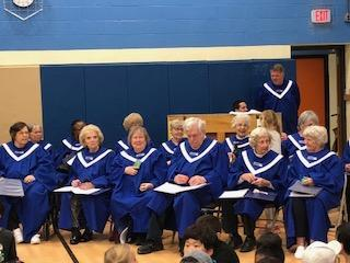 Senior Choir from American House