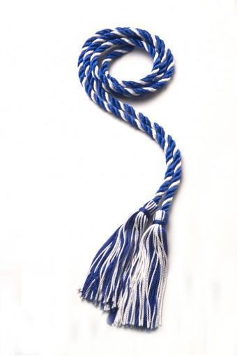 Blue & white honor cord