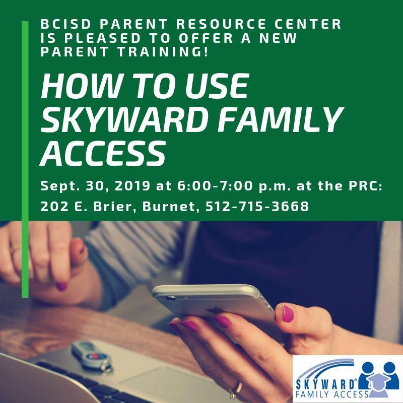 Parent Training:  How To Use Skyward Family Access Thumbnail Image