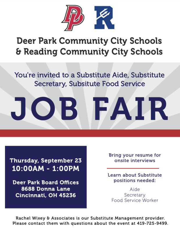 Job Fair Flyer Information