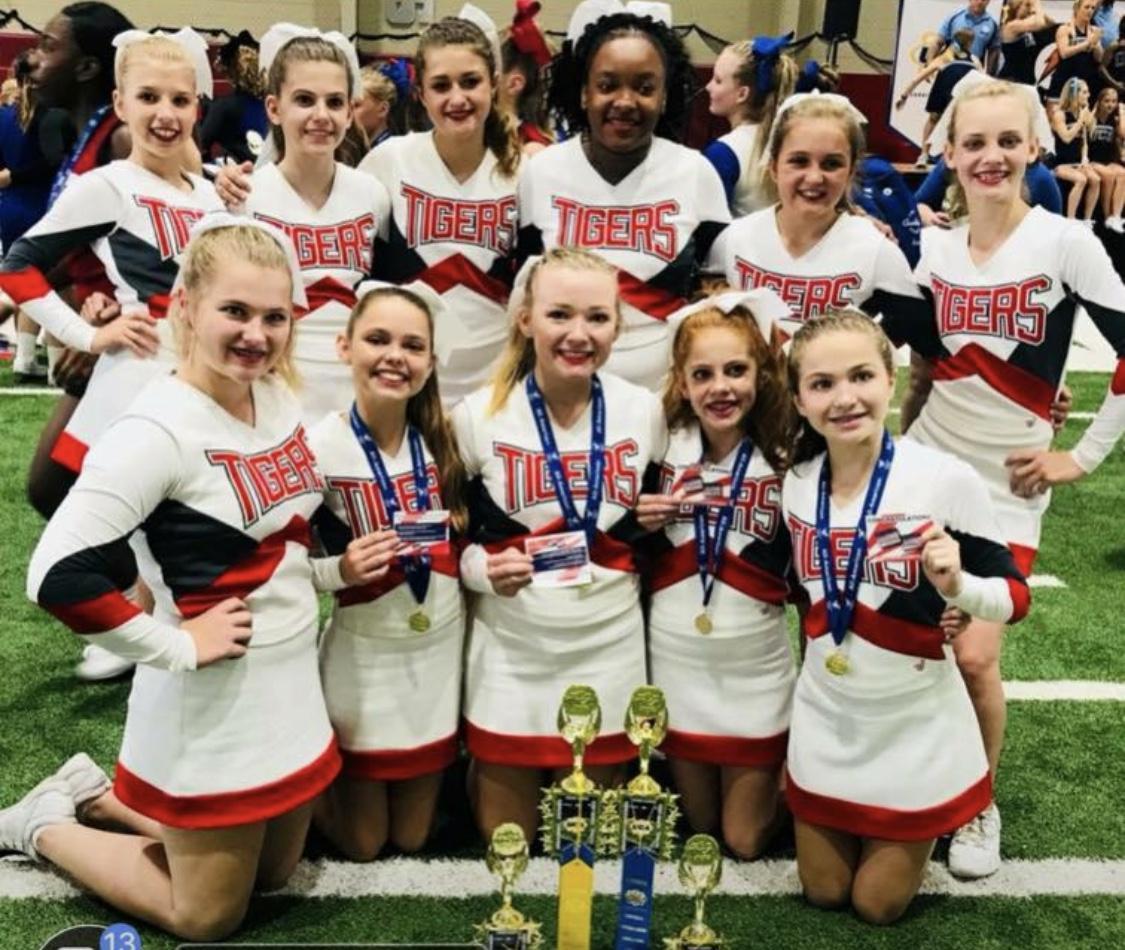 2018-19 WBMS Cheerleaders