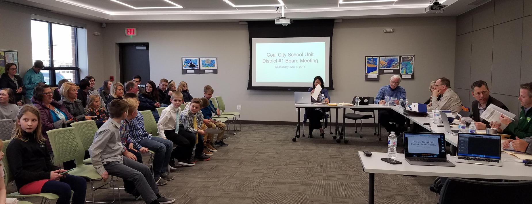 Board Meeting in April 2018