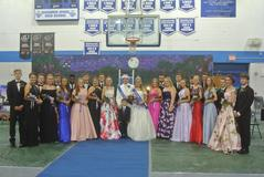 2018 BUHS Homecoming Court at Coronation.