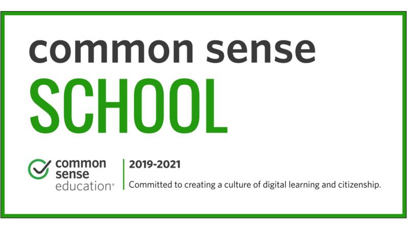 Banner that says Common Sense School