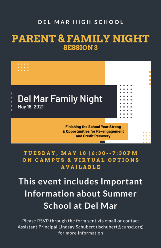 parent night on may 18 2021