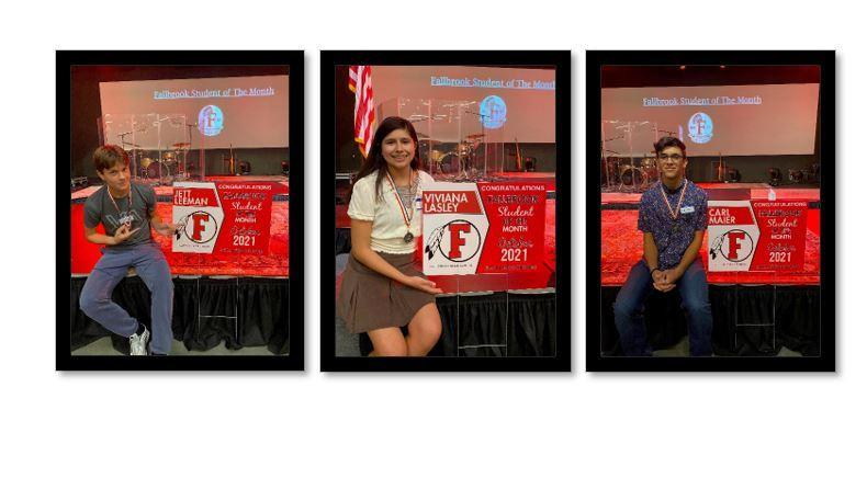 Students of the Month Image