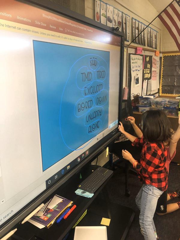 Teachers care about your feelings, at Lexington we use technology to develop awareness and self-regulation that is simple to use for our students. #proud2bepusd #SELcurriculum
