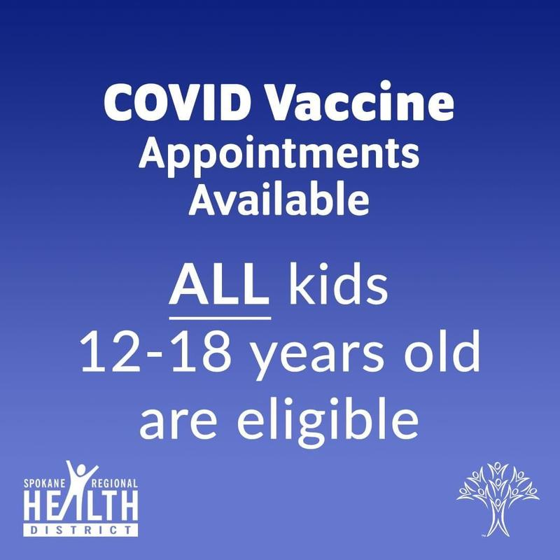 FREE COVID VACCINE for ALL kids 12-18 Thumbnail Image