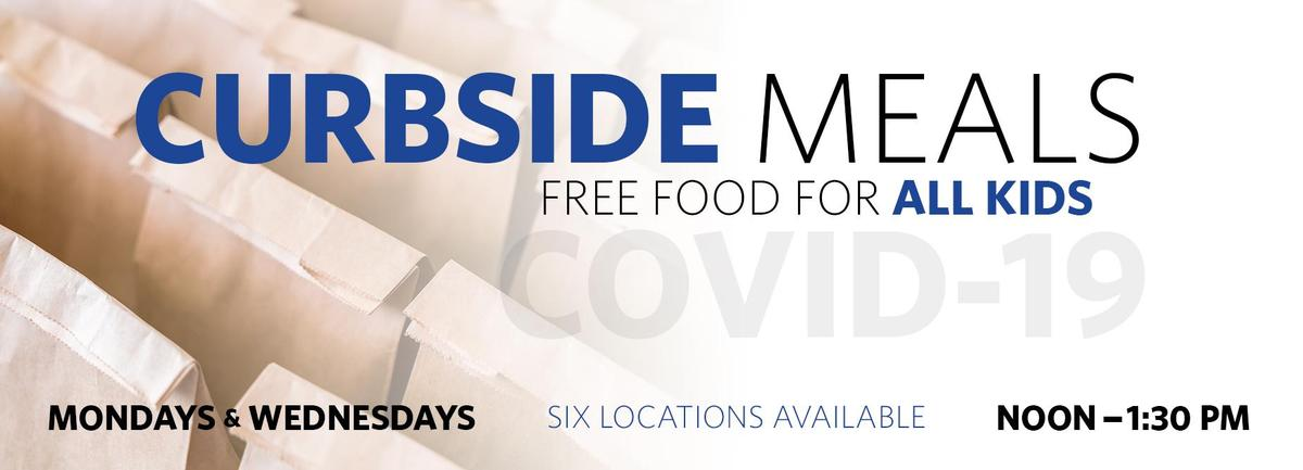 curbside meals mondays and wednesdays