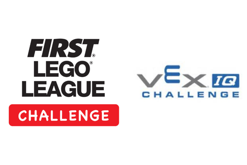 First Lego League Challenge and VEX IQ logos