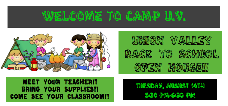 BACK TO SCHOOL OPEN HOUSE Thumbnail Image