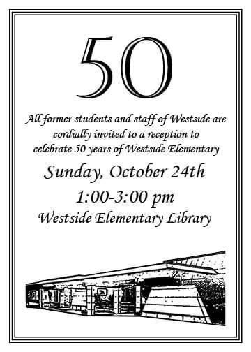 ws 50th celebration