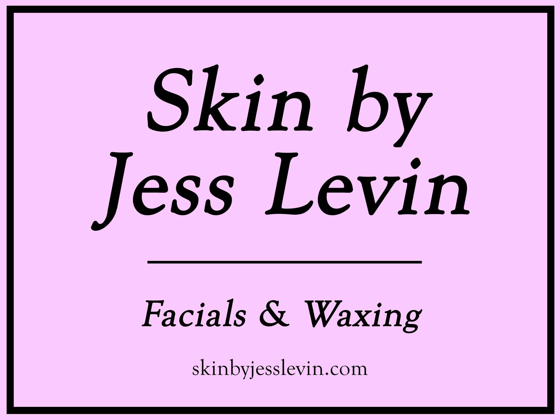 skin by jess levin logo