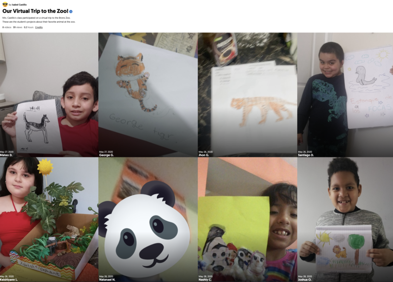 Ms. Castillo, Grade 2 Room 210 - Bronx Zoo Virtual Field Trip Mix Tape.