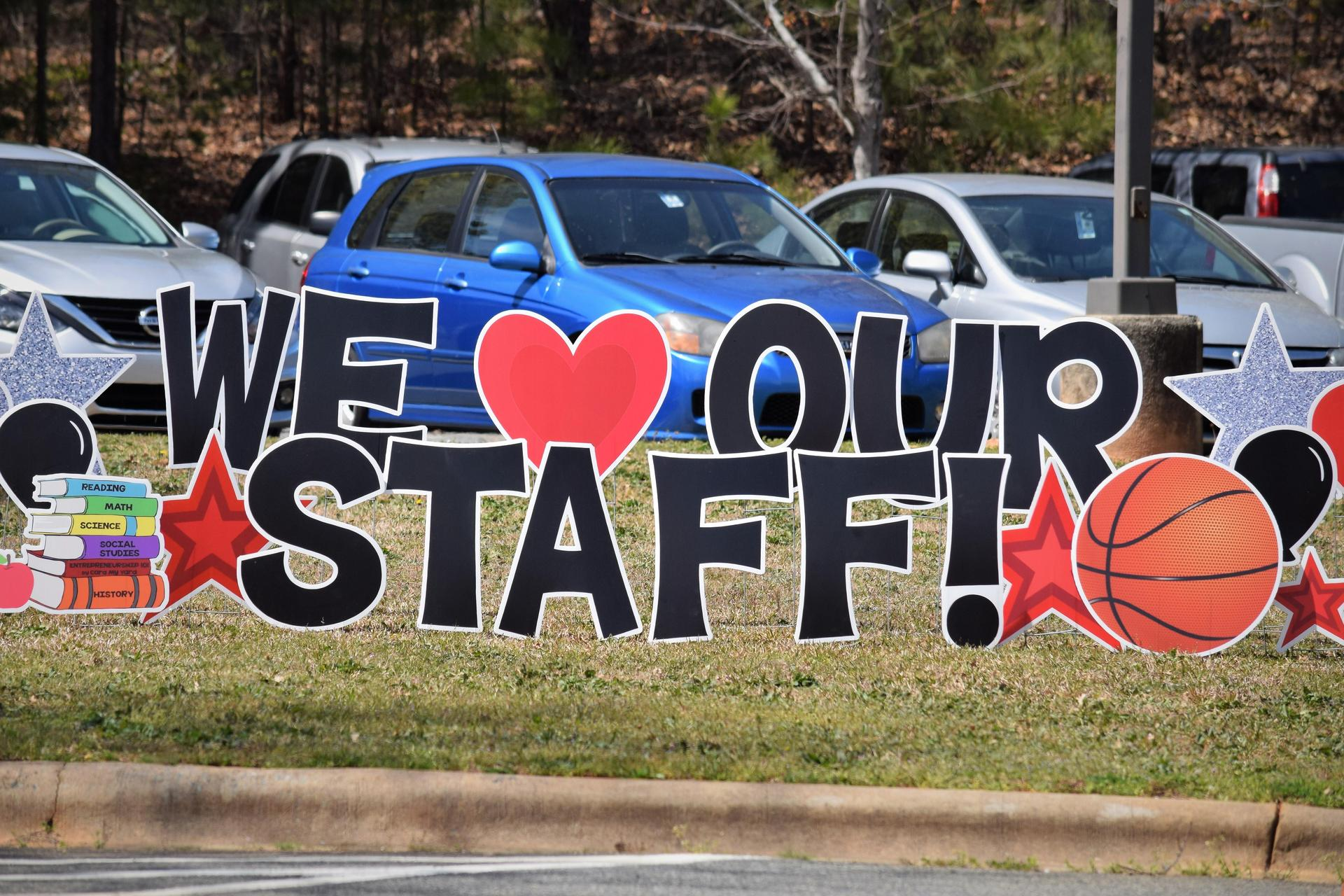 We love our staff!
