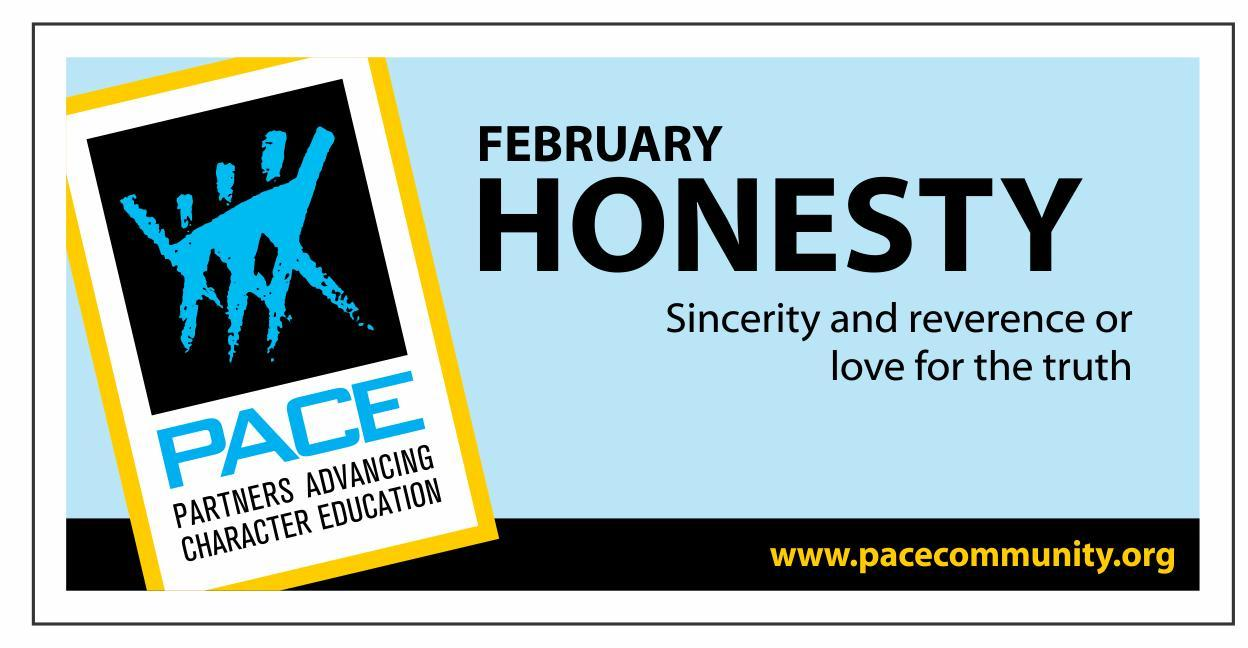 February PACE Trait Honesty