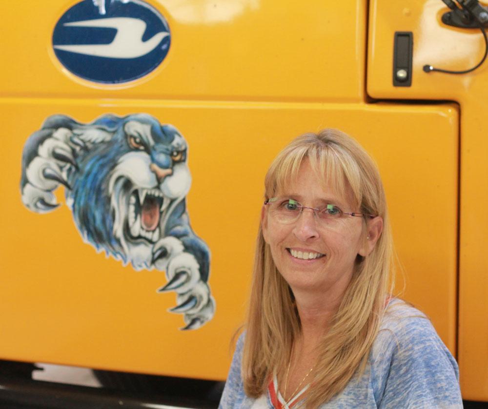Image of Bus Driver Lori Temple