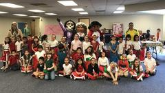 Liberty Elementary students and families recently participated in a two-day cultural event that included performances by students in the school's dual language classes and interactive displays.