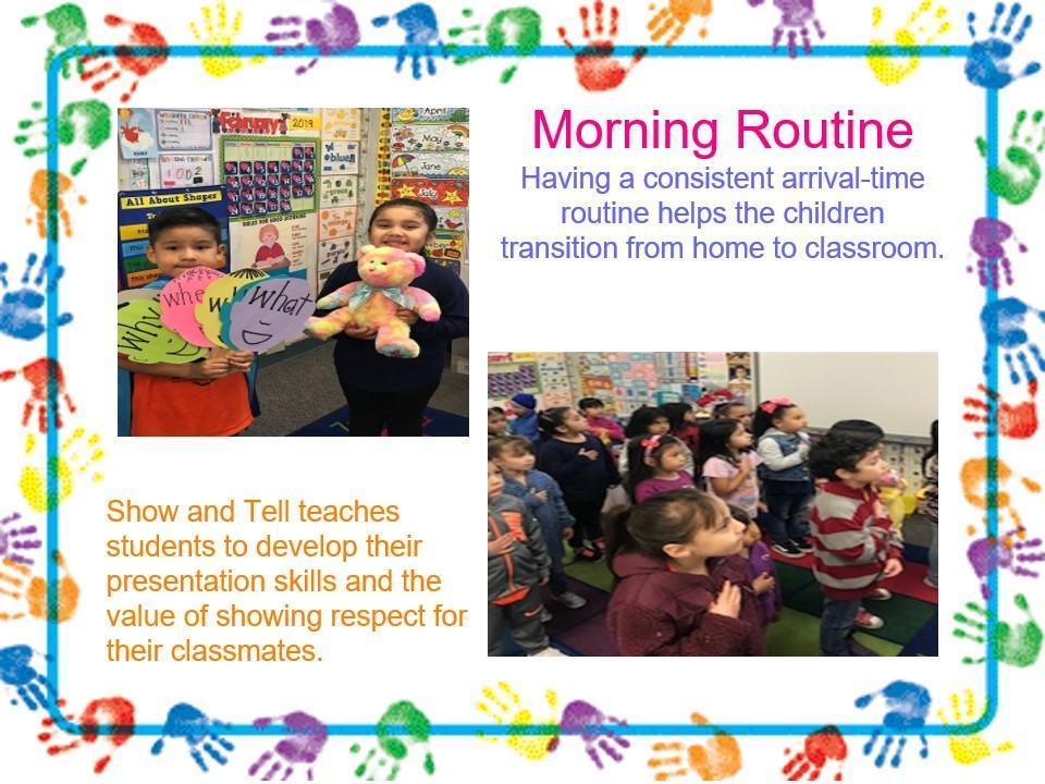 transitional kindergarten students at work