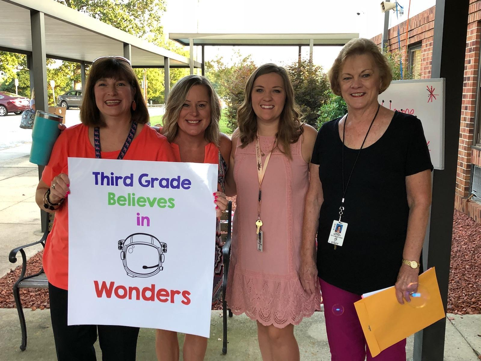 Third grade teachers.