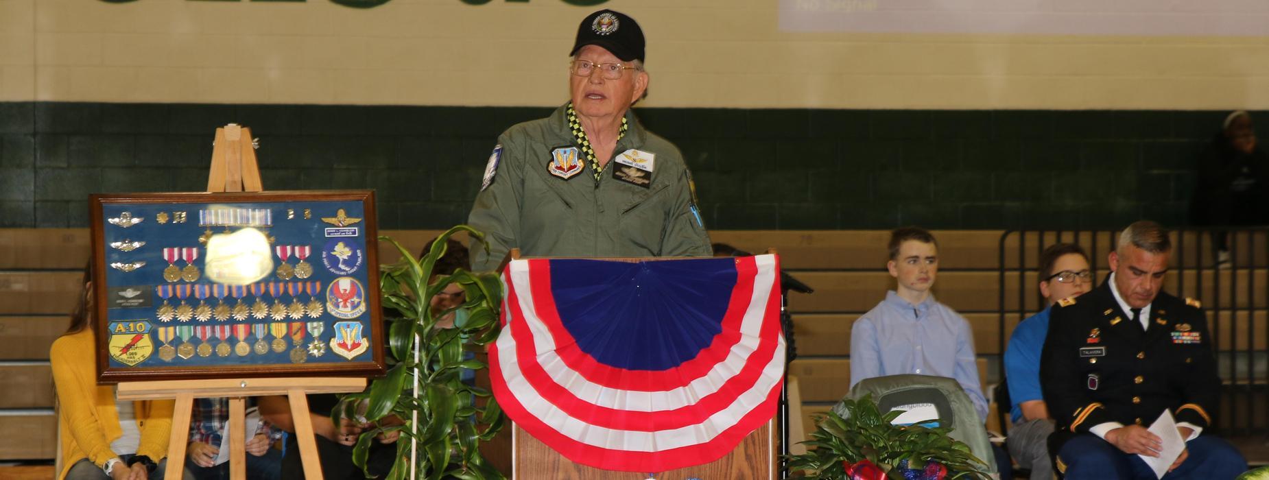 Veterans Day Speaker