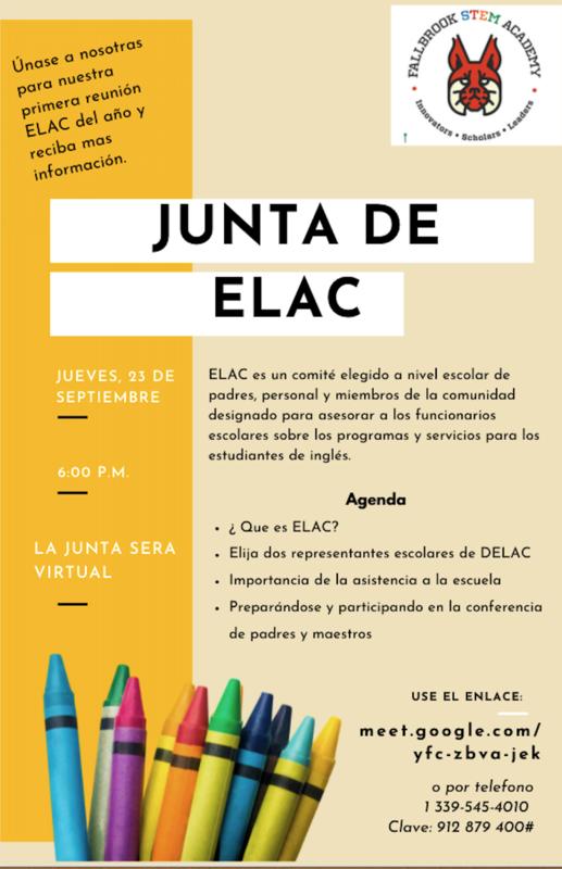 Junta de ELAC Featured Photo