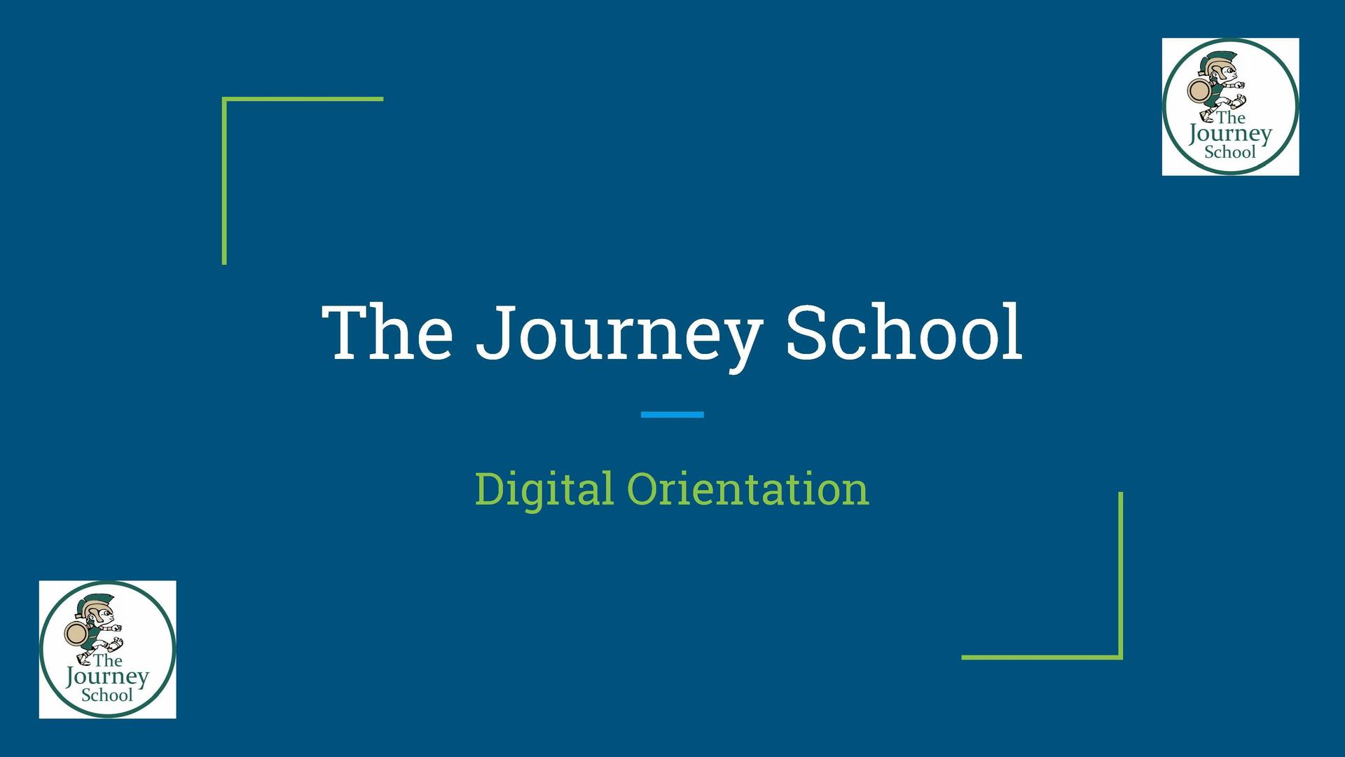 The Journey School FAQ Cover