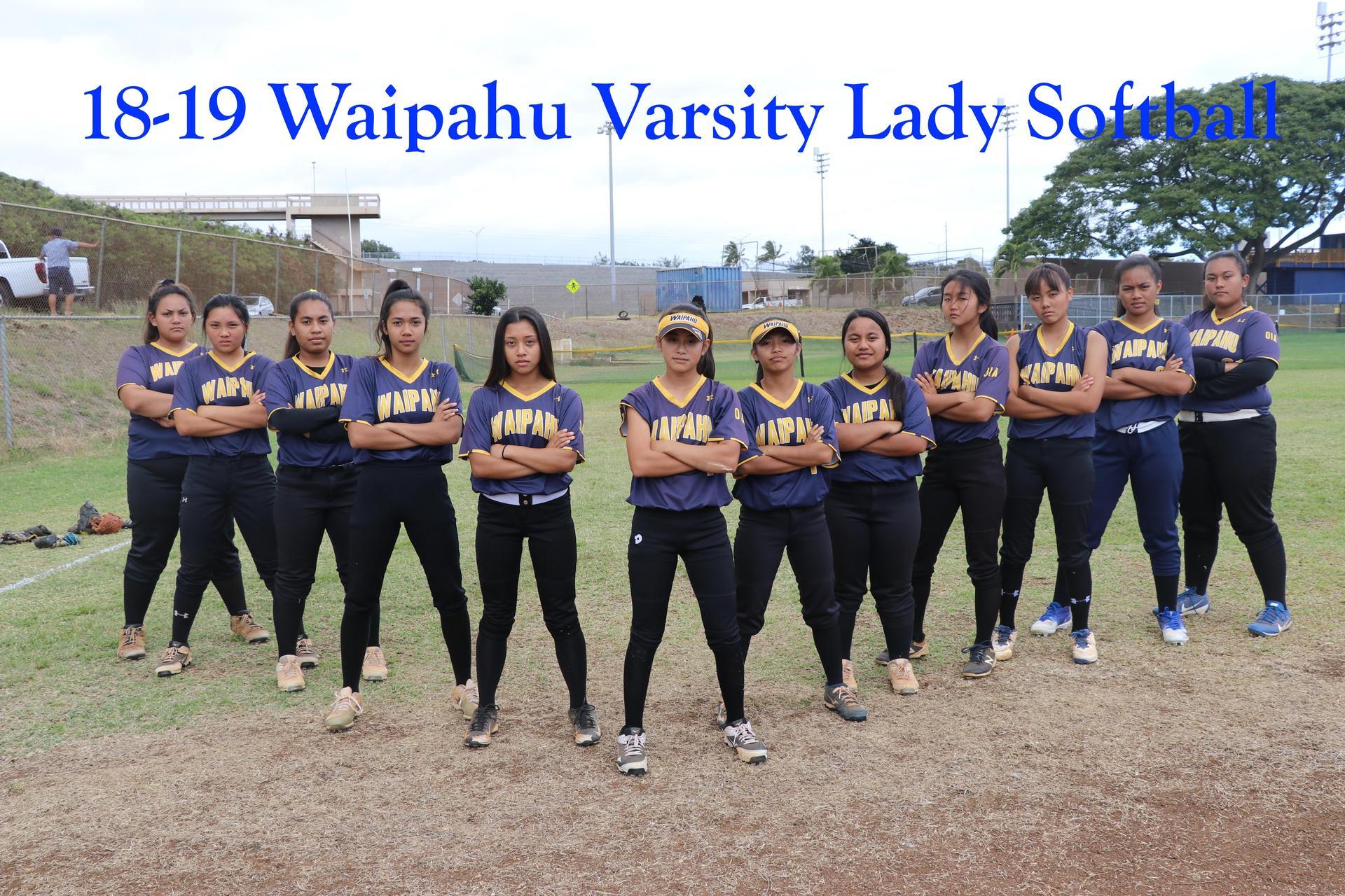 18-19 Softball Varsity