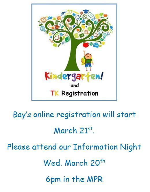 TK/Kindergarten Online Registration Featured Photo