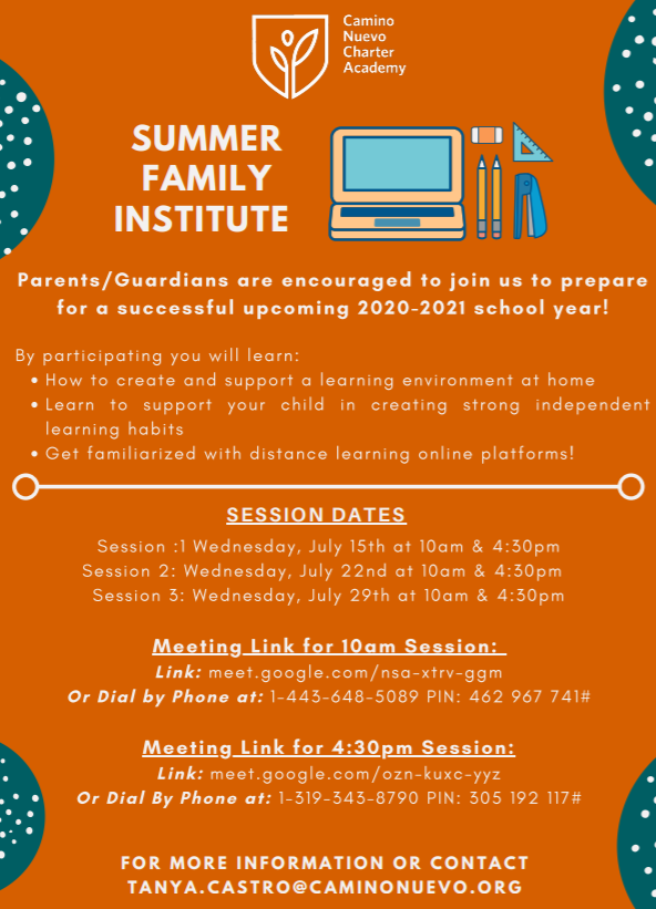 Summer Family Institute