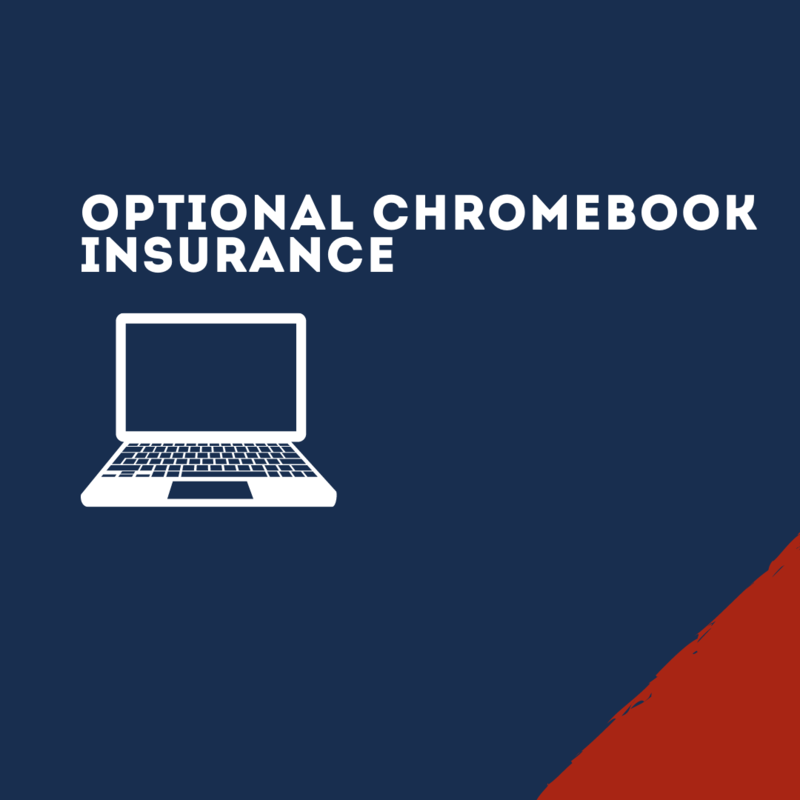 Graphic for optional chromebook insurance