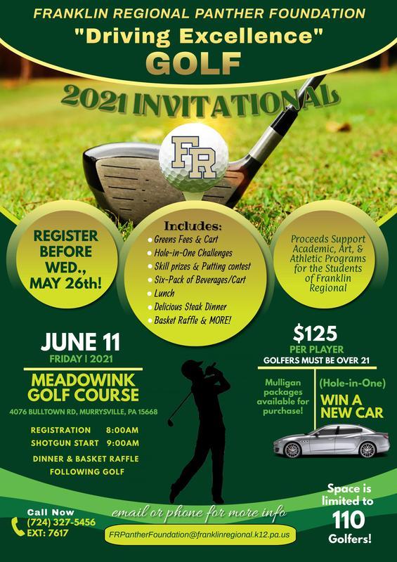 FRPF Golf Invitational 2021
