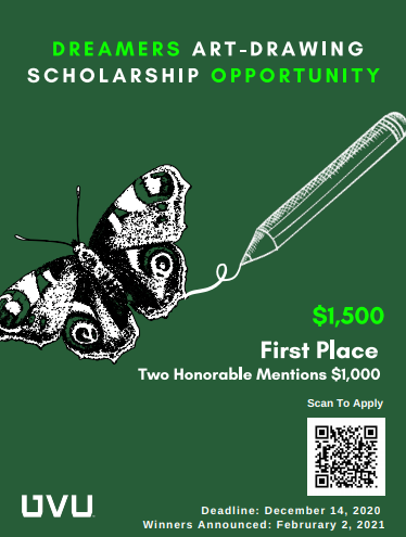 UVU Dreamers Scholarship