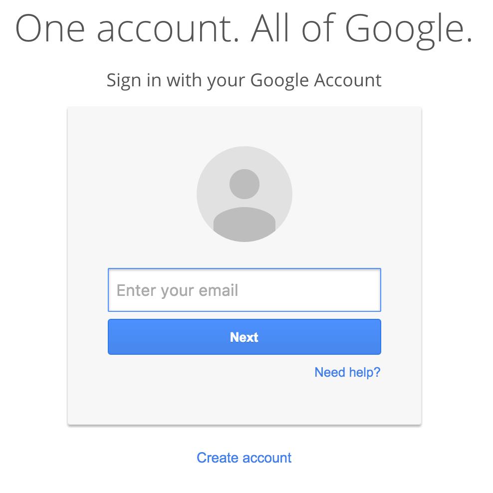Google Logo/Link