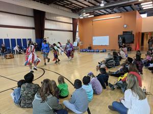 WTSD Choctaw Visit - image 2