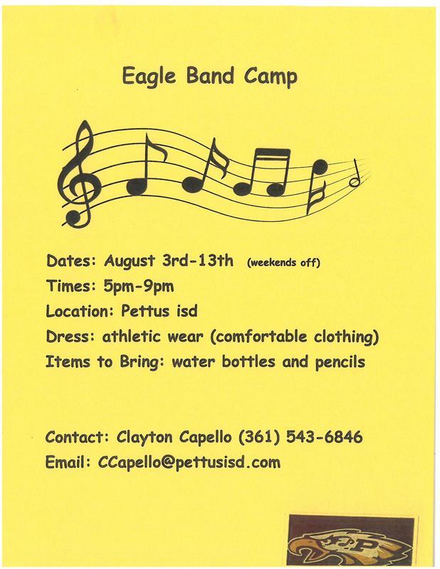 Eagle Band Camp