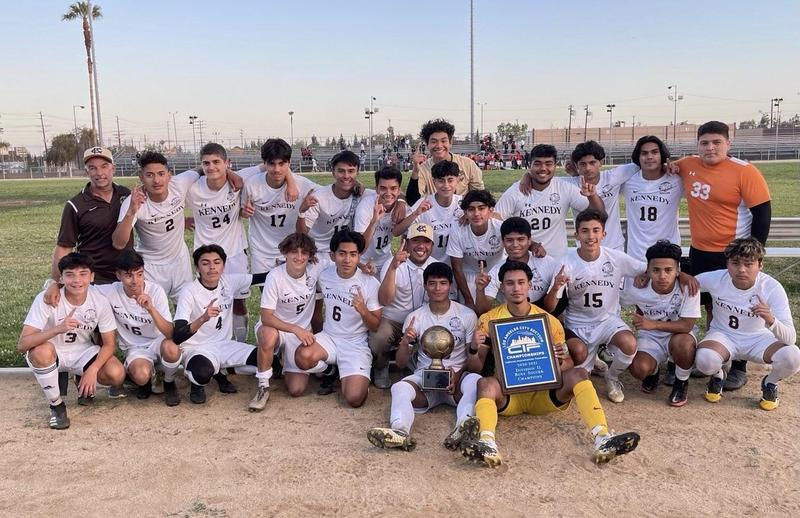 Boys Soccer are City Champs! Featured Photo