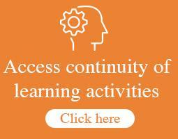 IUSD - Access continuity of learning activities button