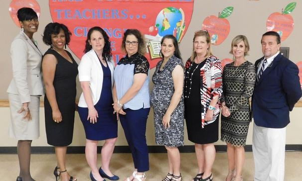 St. Landry Parish Teachers of the Year Elementary - Billie Cortez, Palmetto Elem. Middle School - Kristin Bullard, Leonville Elem. High School - Dr. Dona Robinson, Port Barre High St. Landry Parish Principals of the Year Elementary - Kellie Rabalais, Palmetto Elem. Middle School - Ramica Robinson, Krotz Springs Elem. *State Semi-Finalist High School - Mitchell Fontenot, Eunice High 5-8th Grade - Mary Miller, Arnaudville Elem. 7-12 Grade - Karen Olivier, MACA