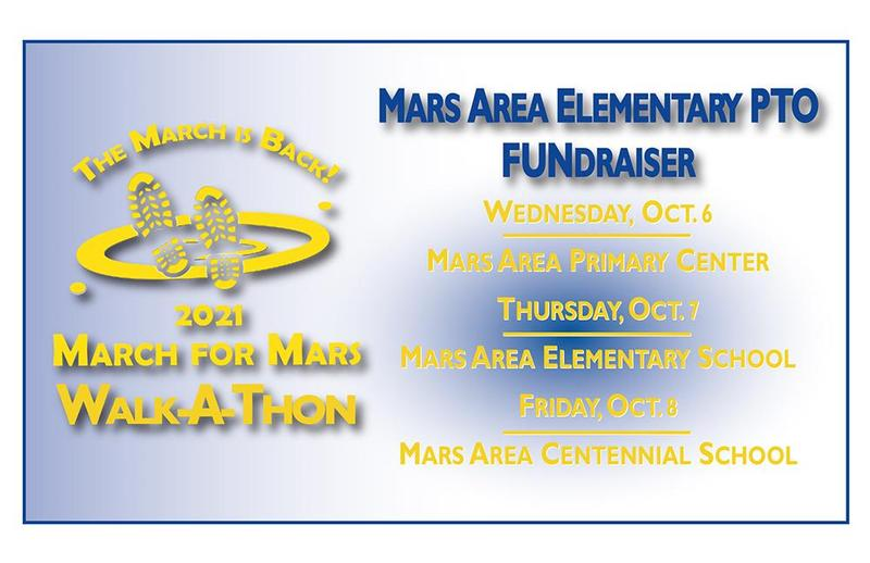 Mars Area Elementary PTO - March for Mars Walk-A-Thon Fundraiser