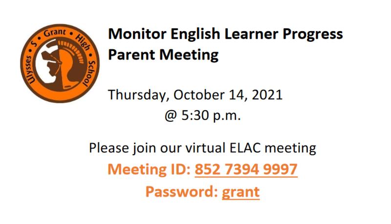 EL Parent Meeting Featured Photo