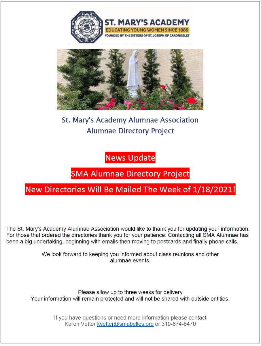 Alum Directory Flyer
