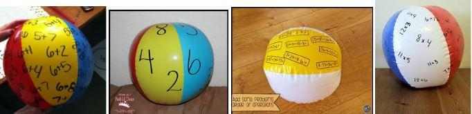 Beach ball examples