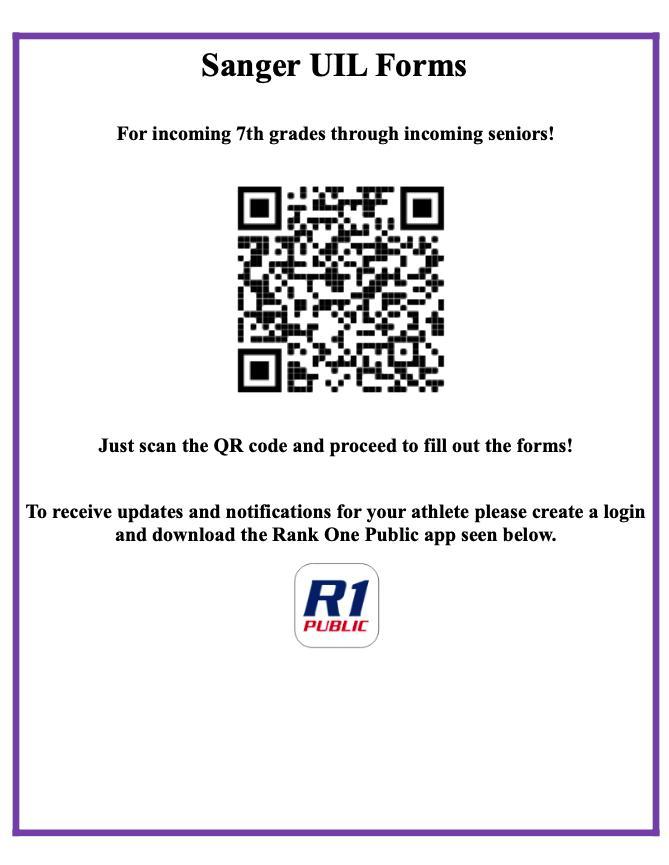 UIL Form QR code