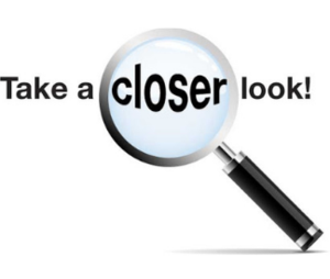 take a closer look